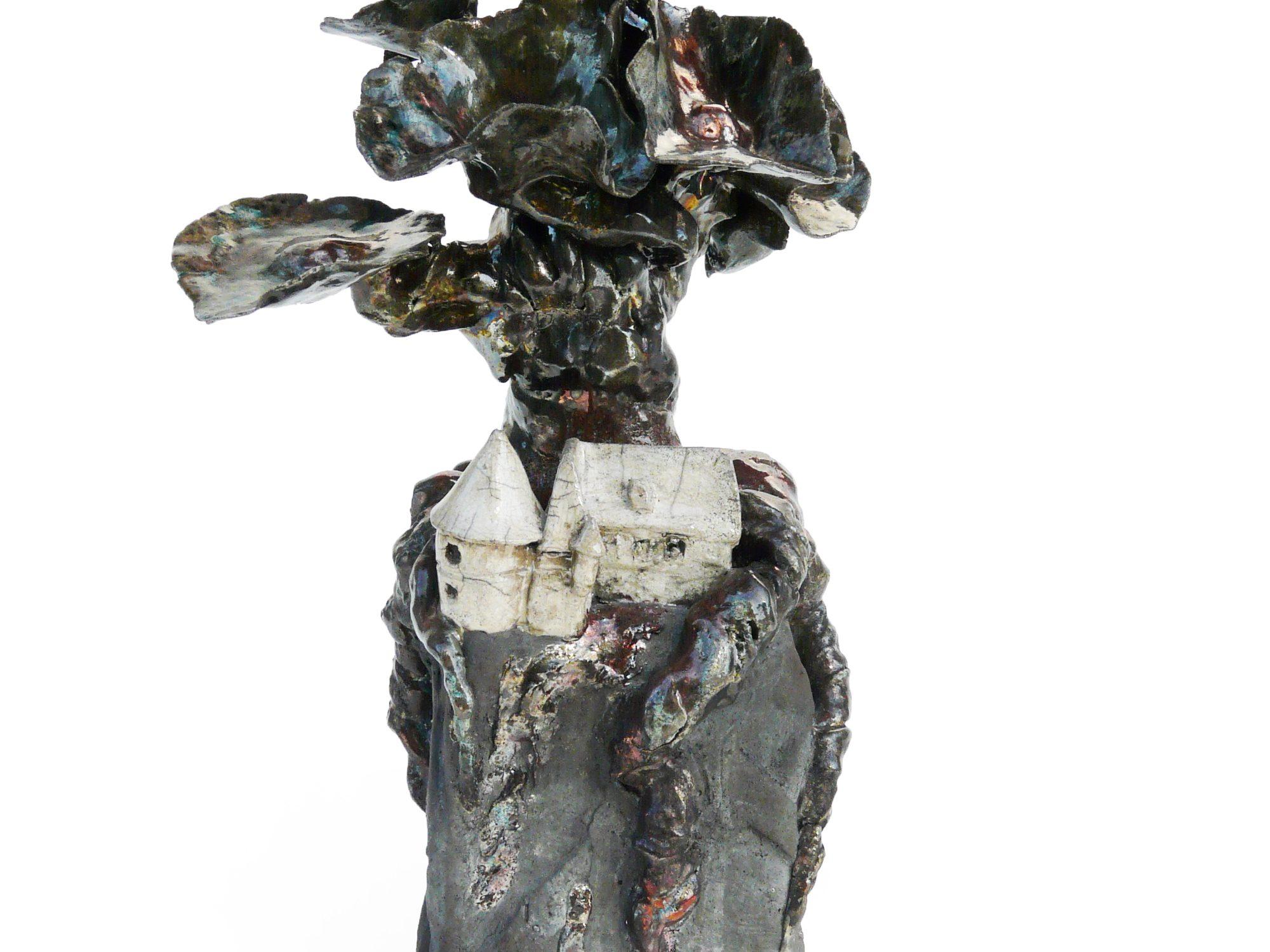 Creolium Criolium - Grès - Raku - Sculptures céramique de Florence Lemiegre