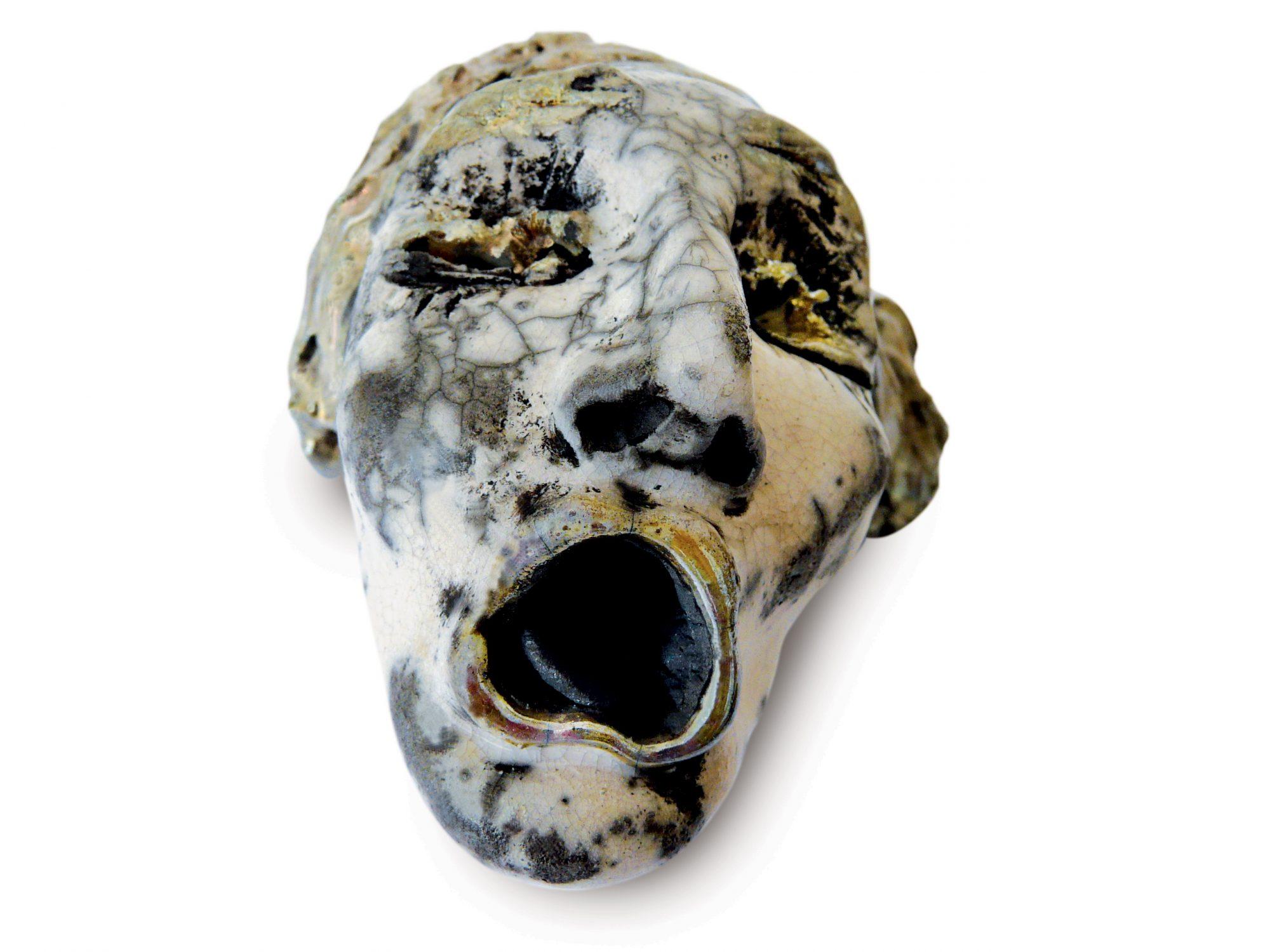 Yono - Grès - Cuisson Raku - Sculptures céramique de Florence Lemiegre