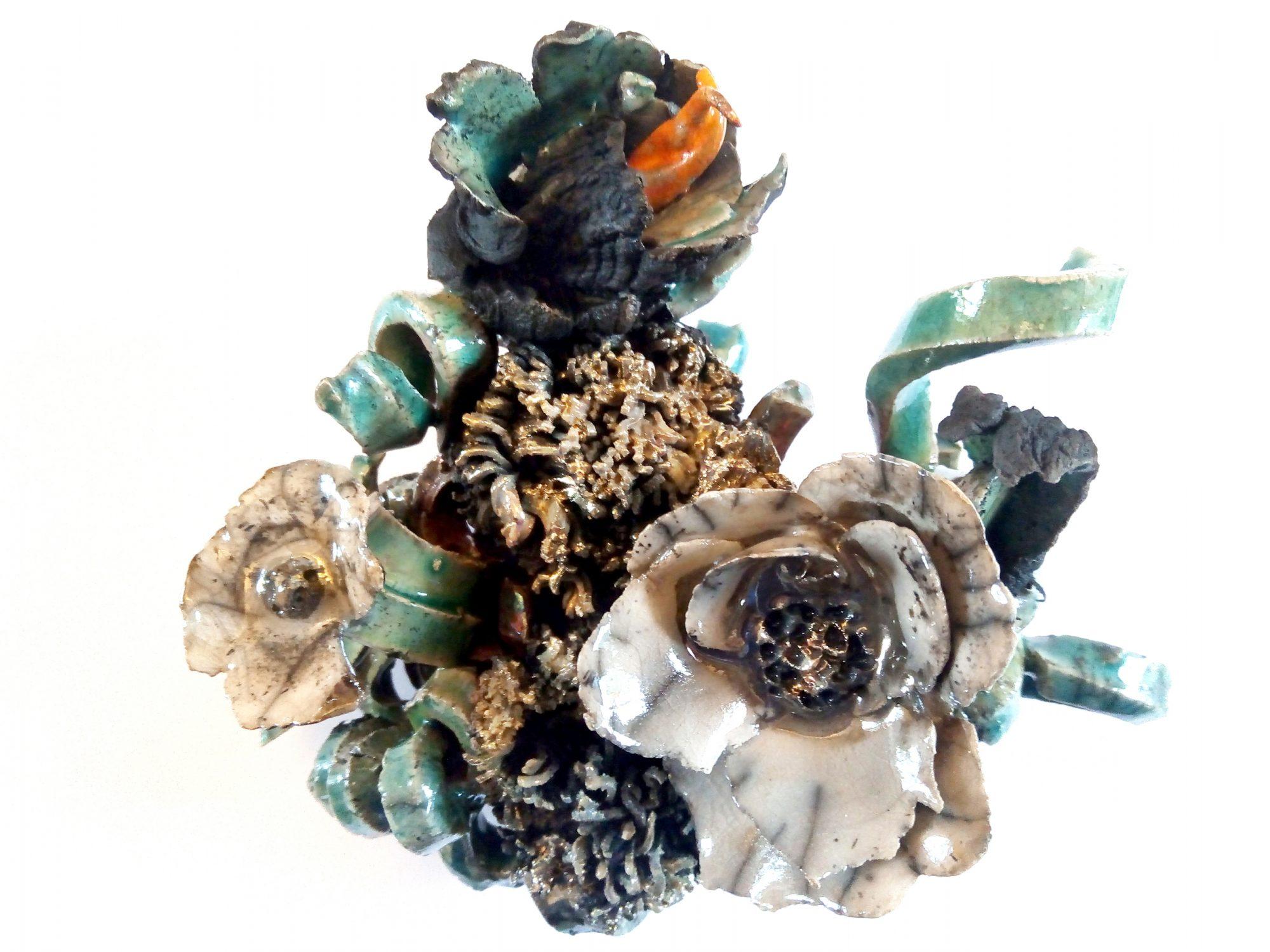 Noli me tangere - Grès - Cuisson Raku - Sculptures céramique de Florence Lemiegre