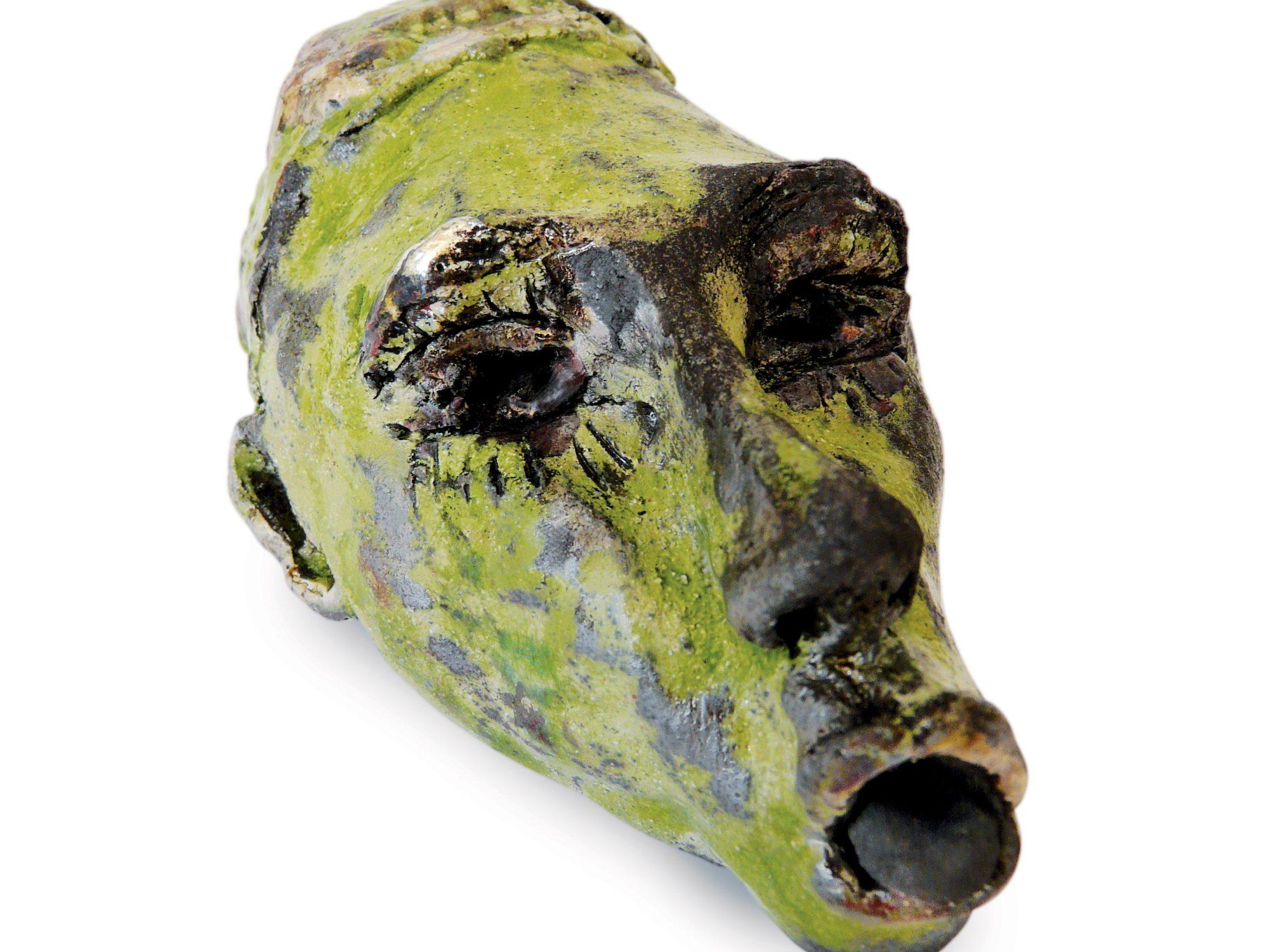 Mano - Grès - Cuisson Raku - Sculptures céramique de Florence Lemiegre