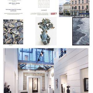 Galerie de la Fondation Taylor - Lauréate sculpture de la commission des expositions de la Fondation Taylor - Sculptures céramique de Florence Lemiegre