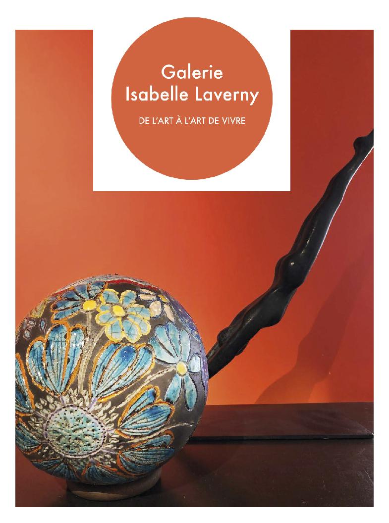 Galerie Isabelle Laverny - Sculptures céramique de Florence Lemiegre