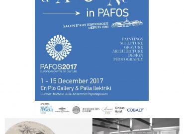 Salon d'Automne à Pafos - Chypre - Sculptures Céramique de Florence Lemiegre