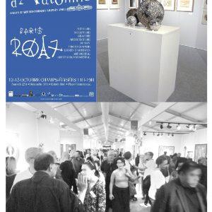 Salon d'Automne 2017 - Paris - Sculptures Céramique de Florence Lemiegre