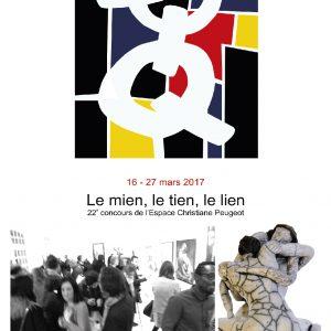 Le tien, le mien, le lien - Espace Christiane Peugeot - Paris - Sculptures Céramique de Florence Lemiegre