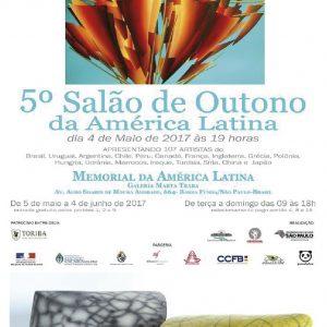 5e Salon de Outono da América Latina – Sao polo - Brésil - Sculptures Céramique de Florence Lemiegre