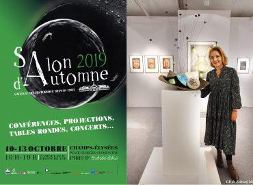 Salon d'Automne de Paris 2019 - Champs-Élysées - Paris - Sculptures céramique de Florence Lemiegre