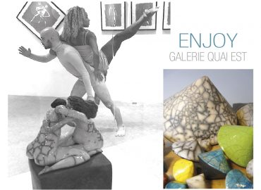 Enjoy - Galerie Quai Est - Sculptures Céramique de Florence Lemiegre