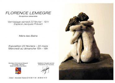 Galerie Traverse - Mers-les-Bains - Sculptures Céramique de Florence Lemiegre