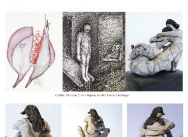 """""""Corps et âmes"""" - Galerie La Ralentie - Paris - Prix du Public - Sculptures Céramique de Florence Lemiegre"""
