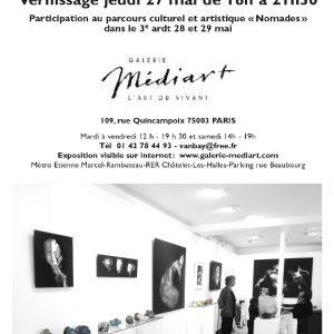 Galerie Médiart - Paris - Sculptures Céramique de Florence Lemiegre