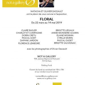 Floral - Nag - Not A Gallery - Natacha et Olivier Dassault - Paris - Sculptures céramique de Florence Lemiegre