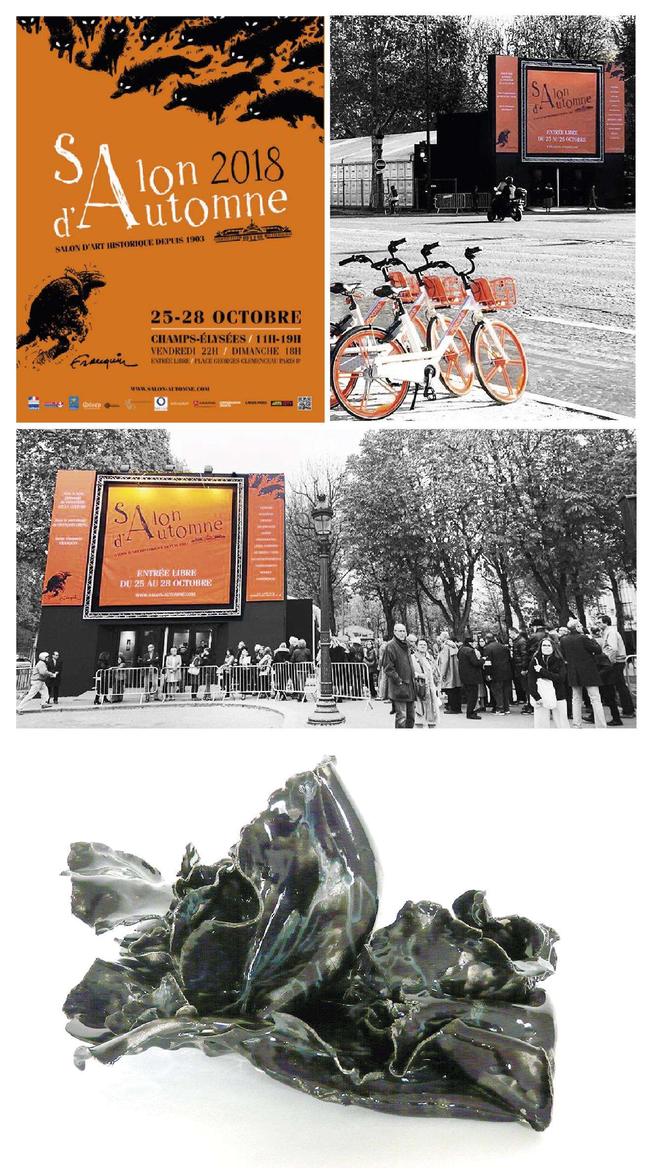 Salon d'Automne 2018 - Paris - Sculptures Céramique de Florence Lemiegre