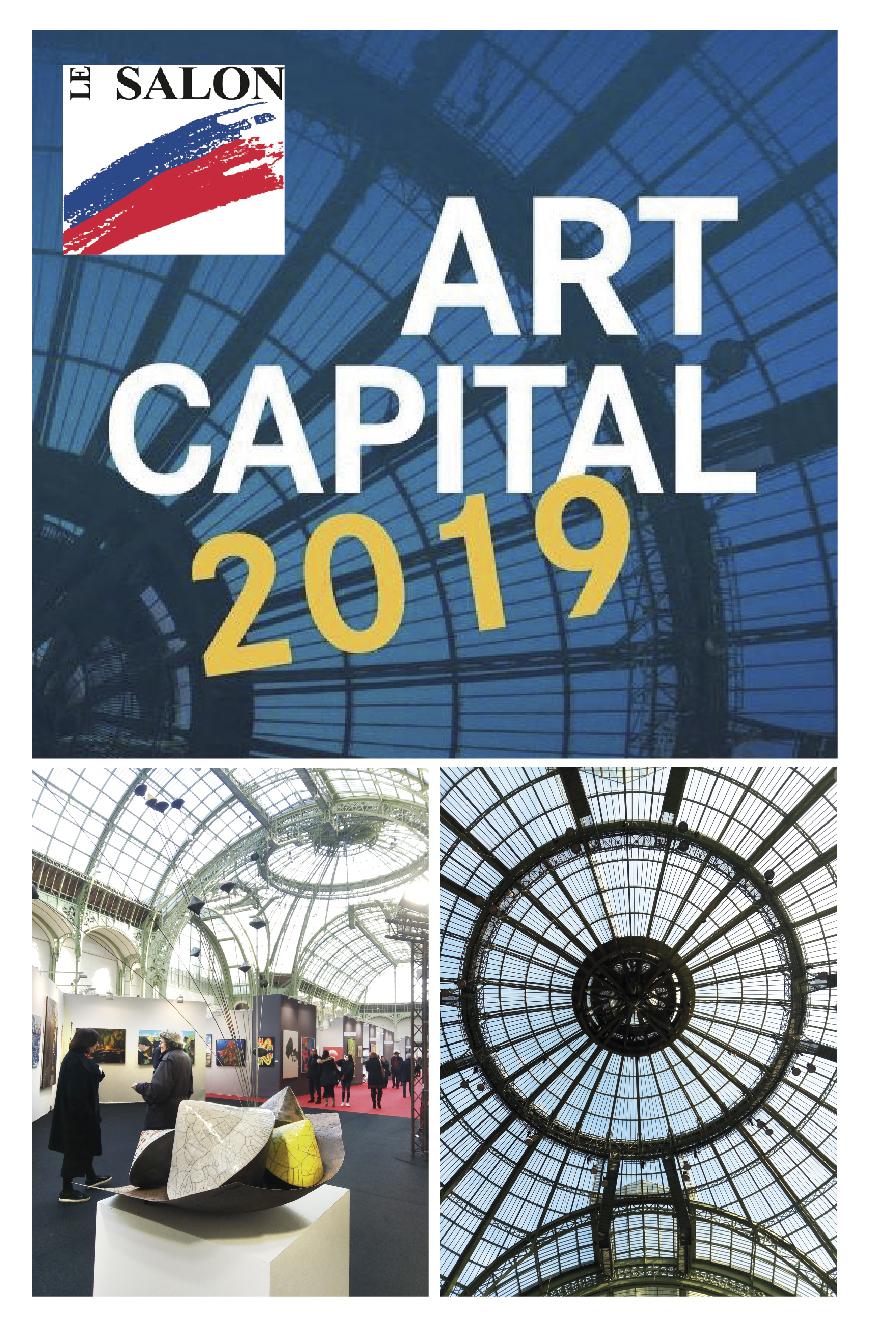 Art Capital 2019 - Salon des Artistes Français - Grand Palais - Paris - Sculptures céramique de Florence Lemiegre