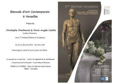 3e Biennale de Versailles - Versailles - Sculptures Céramique de Florence Lemiegre