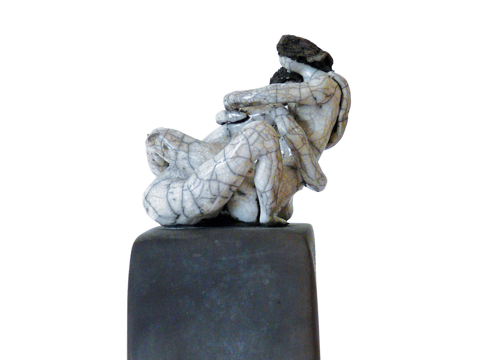 La naissance des sens - Grès - Raku - Sculptures céramique de Florence Lemiegre