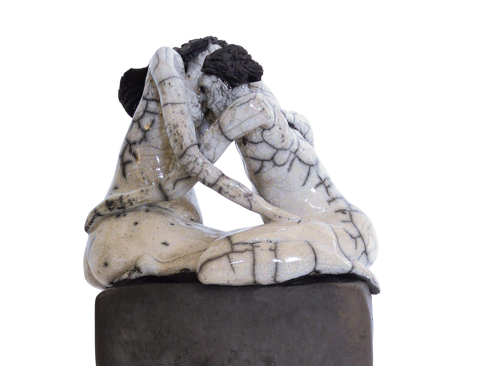 L'éveil des sens - Grès - Raku - Sculptures céramique de Florence Lemiegre