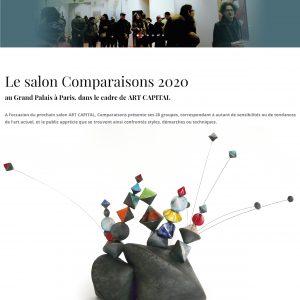 Le Salon Comparaisons - Art Capital 2020 - Paris - France - Sculptures céramique de Florence Lemiegre