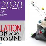 """Annulation du salon d'Automne de Paris 2020-COVID - """"Culbutos Serendipity - Sculpture céramique de Florence Lemiegre - Annulation du salon d'Automne de Paris 2020-COVID"""