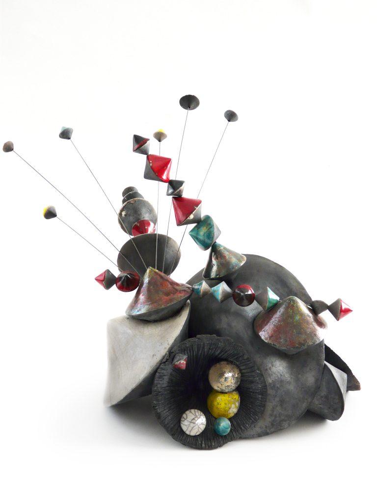 Culbutos Serendipity – 2020 - Sculpture céramique de l'artiste Florence Lemiegre - Salon d'Automne de Paris – 117e édition