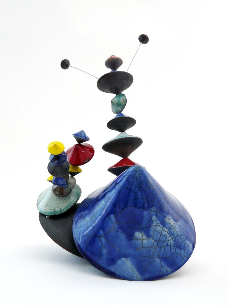 CULBUTOS-SERENDIPITY- BLUEBELL-2020 - Œuvre de Florence Lemiegre