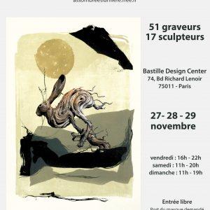 Scultptures céramiques contemporaines - 2020 - Moons, Noli me tangere, Culbutos - Œuvres de Florence Lemiegre - Artiste Sculptrice céramiste - Ombre et Lumière - Exposition Passerelle