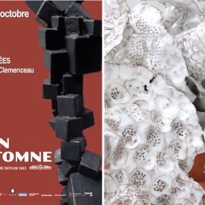 LE SALON D'AUTOMNE DE PARIS 2021 - NOLI ME TANGERE PISTILS - CANDIDUS PISCUS-202 - SCULPTURE BY FLORENCE LEMIEGRE - CERAMIC SCULPTOR - PARIS - ARTFAIR - CHAMPS-ÉLYSÉES