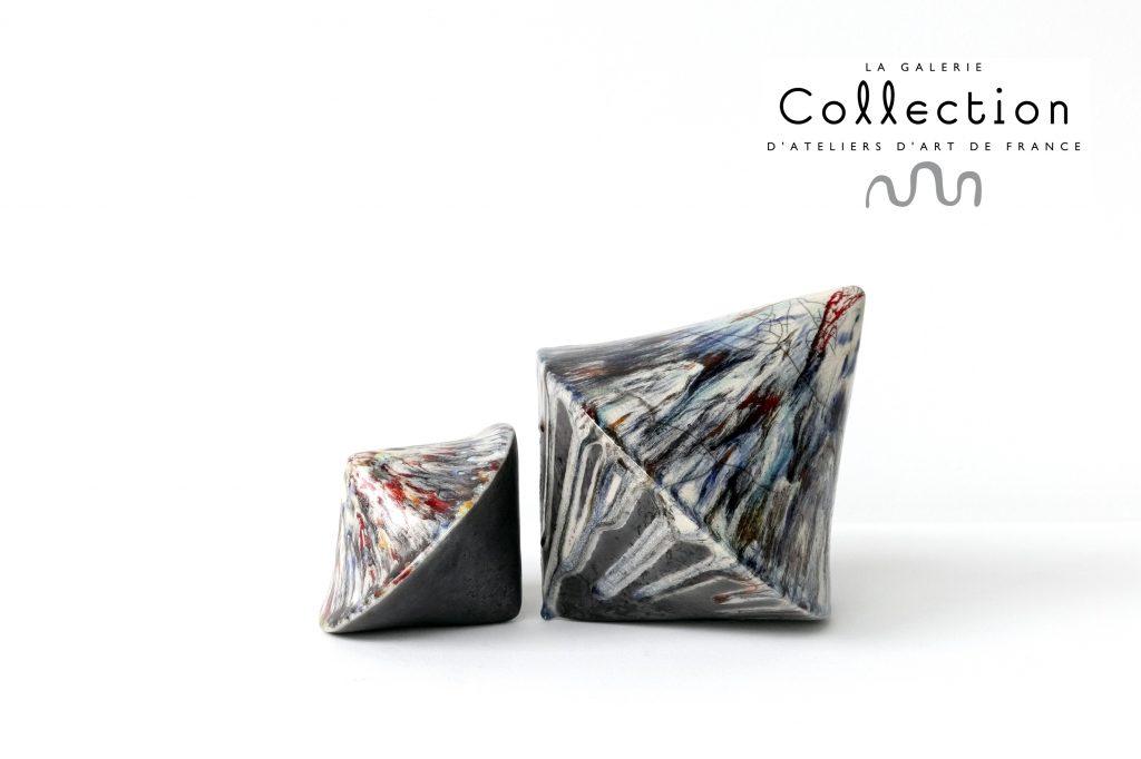 CULBUTOS CHAMARRÉS - ŒUVRES DE FLORENCE LEMIEGRE-GALERIE COLLECTION-2021 - ÉQUILIBRE - DÉSÉQUILIBRE - RÉSILIENCE - DUALITÉ - BALANCE - INBALANCE -Ceramic sculpture 2020 by Florence Lemiegre