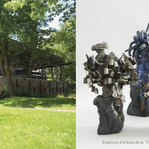 LE MUSÉE DE LA BRIQUETERIE-SAINT BRIEUC-EXPOSITION VÉGÉTAL DU 5 FÉVRIER AU 15 MAI 2022-ESSENCES D'ARBRES DE LA FORÊT IMAGINAIRE ET ENCHANTÉE-FLORENCE LEMIEGRE-SCULPTRICE CÉRAMISTE